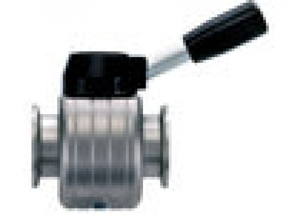 Vacuum valves and small flange components